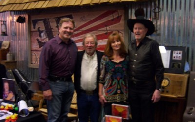 Jeff Stansberry, Gerald Smith, Cindy Hughlett and myself, Pigeon Forge, TN